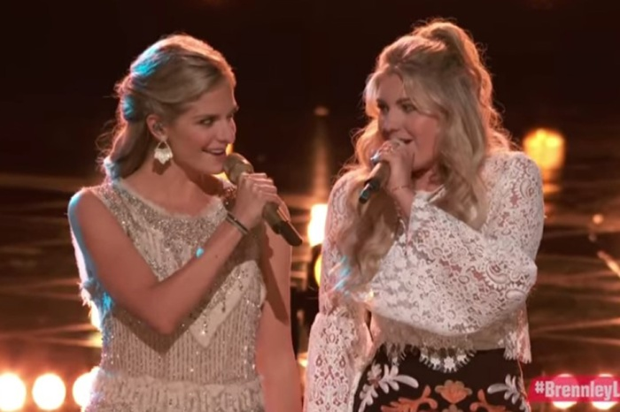"Two blonde beauties on ""The Voice"" turned heads with this famous country duet"
