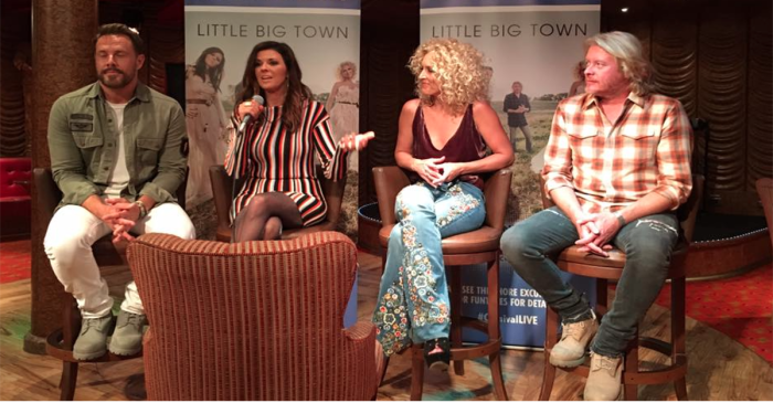 The ladies of Little Big Town reminisce over Mother's Day memories