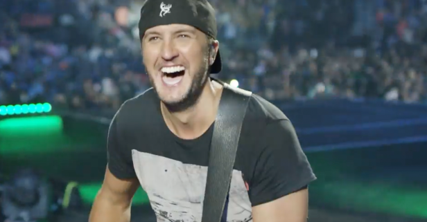Luke Bryan gives it his all in this new video showing off his brand-new tour