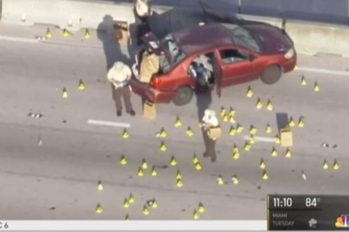 Florida man allegedly opens fire on Miami highway with an AK-47