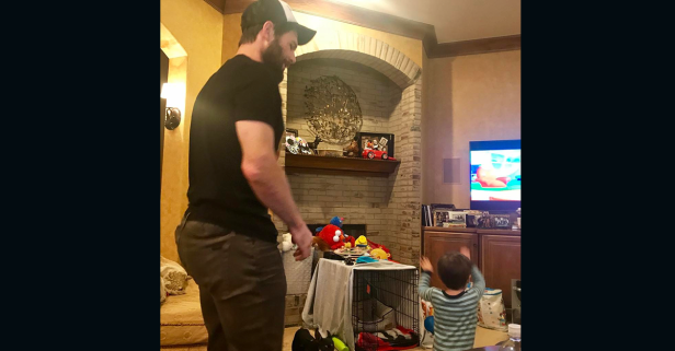 Carrie Underwood just melted our hearts with this father-son bonding moment