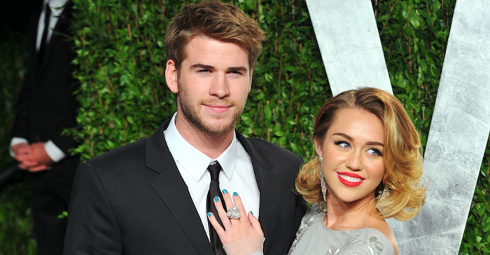 Miley Cyrus and Liam Hemsworth may be finally addressing their wedding plans