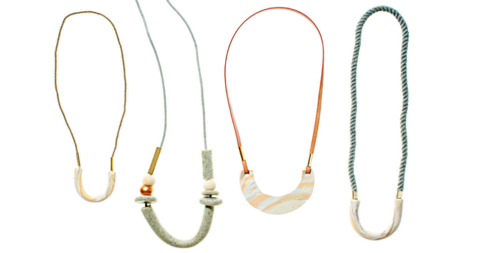 Mom will love these oh-so-stylish necklaces because you made them