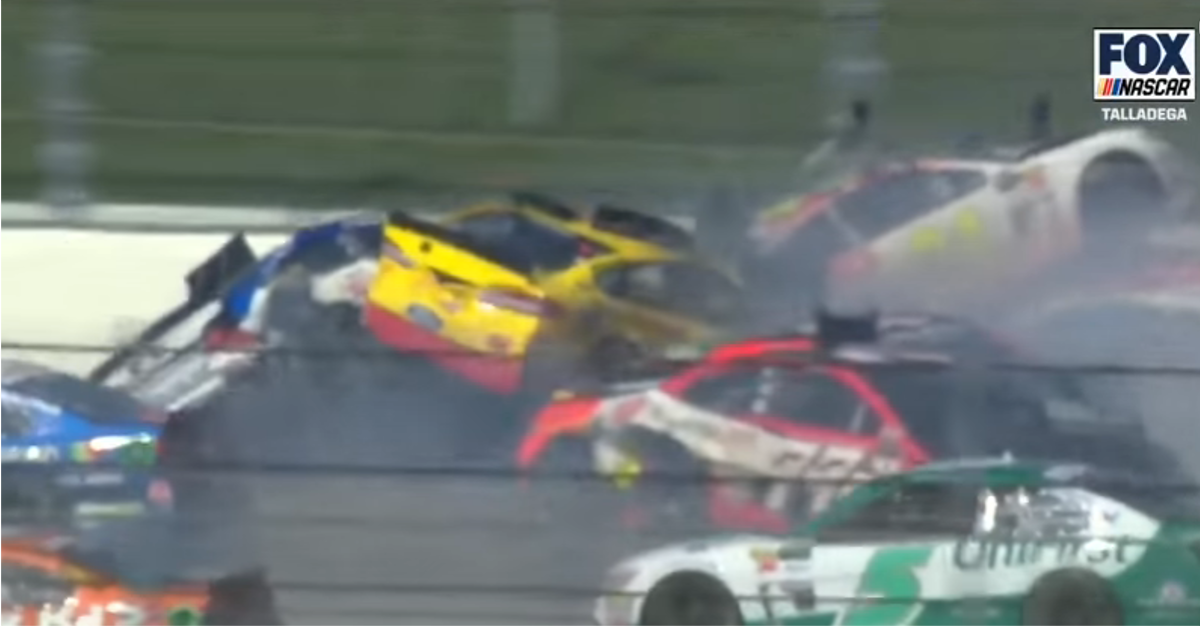 Amy Earnhardt speaks out about Dale Jr.'s close call at Talladega