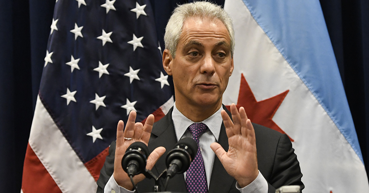 Chicago will tackle climate issues with or without Trump, says the mayor