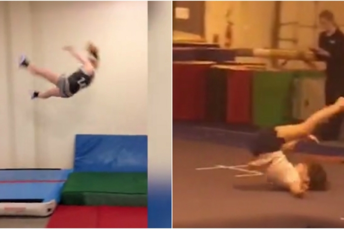 You'll flip out and wince at the same time when you watch these gymnastics fails
