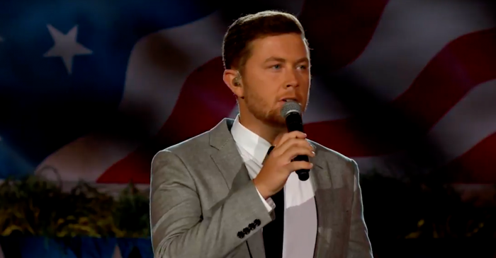 Watch Scotty McCreery's emotional Memorial Day tribute to our fallen heroes