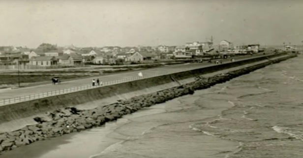Once among the wealthiest towns in America, the history of Galveston's Sea Wall is just as rich