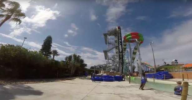 If this video from the world's tallest water coaster doesn't get you pumped for summer, nothing will