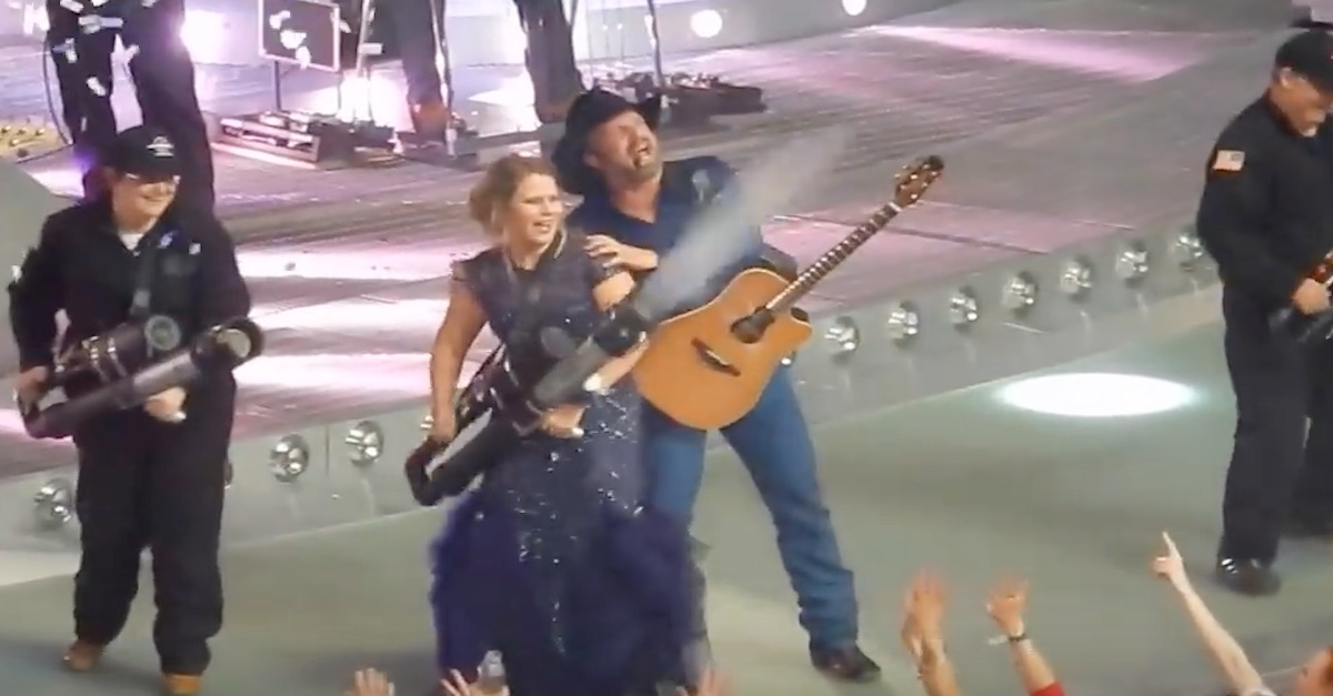 Check out the twist on a high school tradition Garth Brooks gave this teen