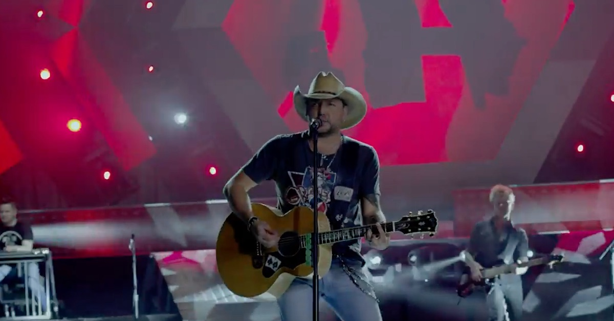 Jason Aldean stands up to country stereotypes in down and dirty new video