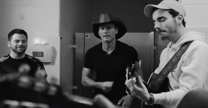 Tim McGraw and this hot new band prove they are bathroom balladeers