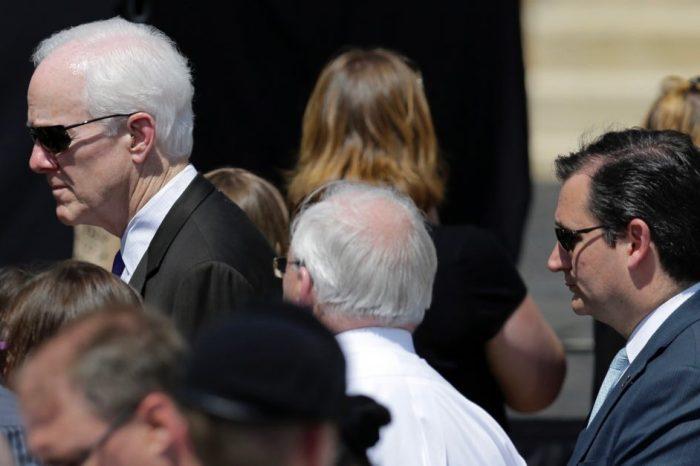 Texas' Senior Senator John Cornyn sets the record straight on where he stands on medical marijuana, sort of
