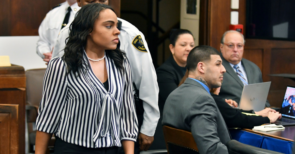 Aaron Hernandez's fiancée opens up about dealing with the pain of his suicide