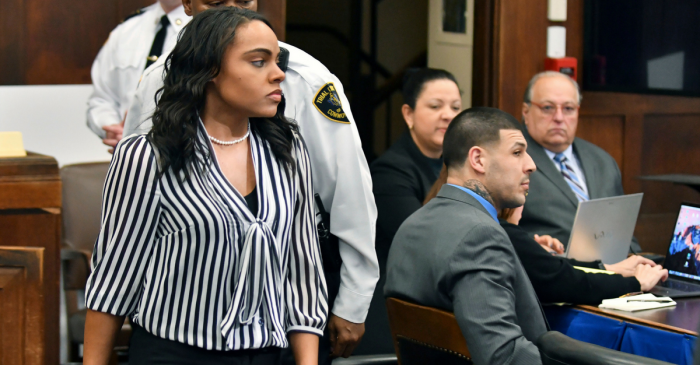 Aaron Hernandez's fiancée opens up about the moment she found out about his suicide