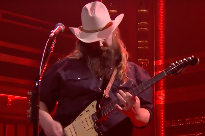 Chris Stapleton burns it down with this blistering, bluesy new song