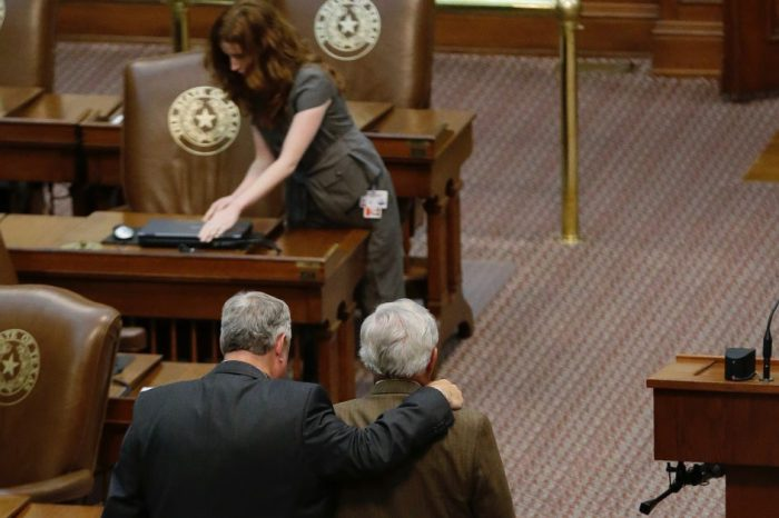 Making the most of the Special Legislative Session, one Houston-area Legislator is calling for more ethics accountability in Texas