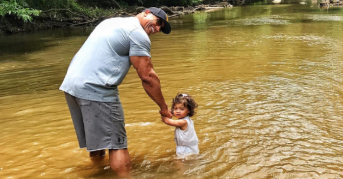 The Rock had fun with his family on Memorial Day and made sure to thank those who have sacrificed everything