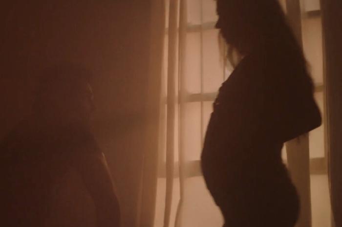 This tender moment between Thomas Rhett and Lauren will melt your heart