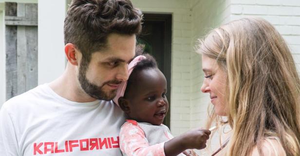 Thomas Rhett's aspirations for his kids will melt your heart