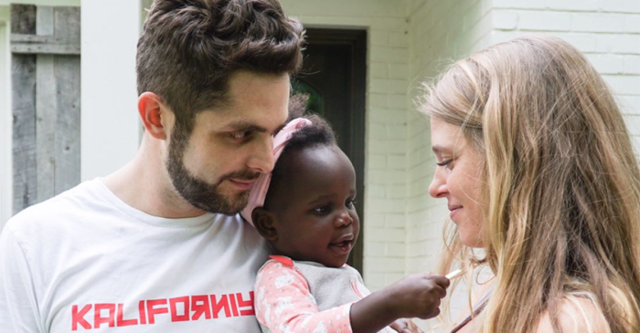 Thomas Rhett and Lauren's house is so full of love with this little angel
