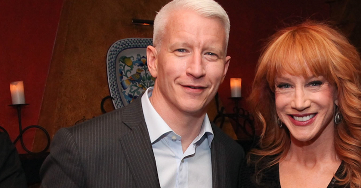 Kathy Griffin's replacement confirms he'll be co-hosting NYE with Anderson Cooper