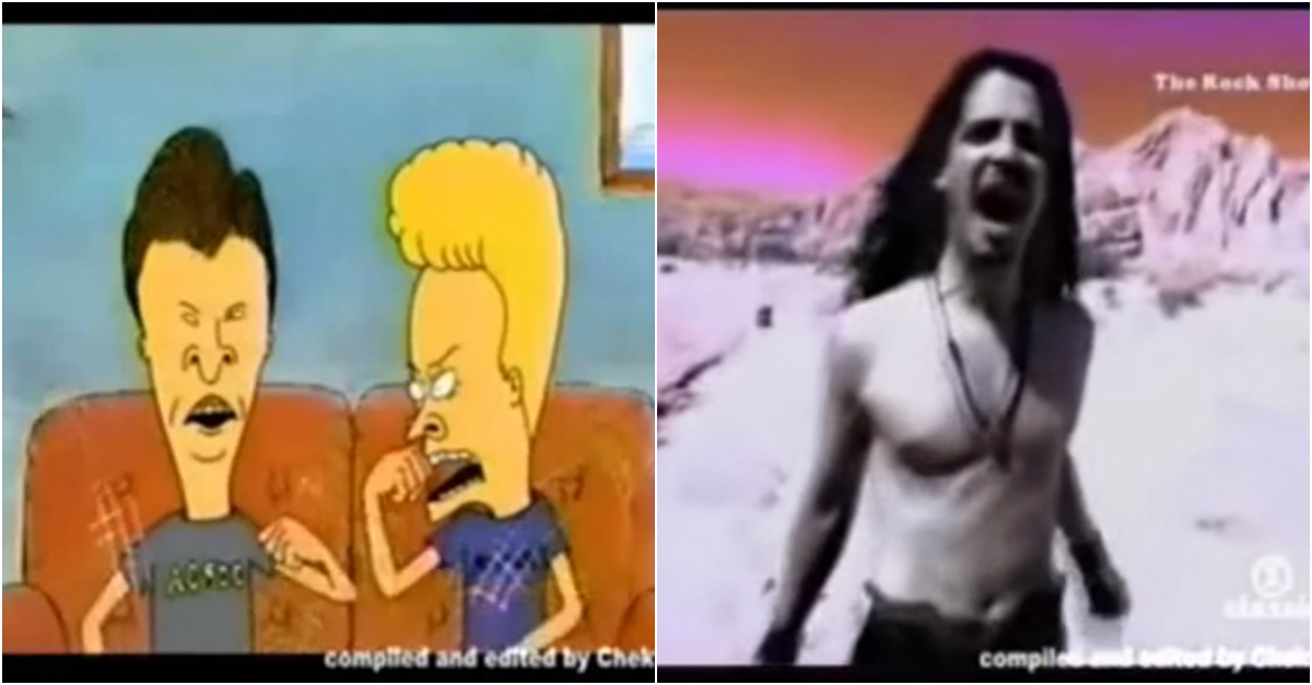 Looking back on Chris Cornell's career with a little help from Beavis and Butt-Head
