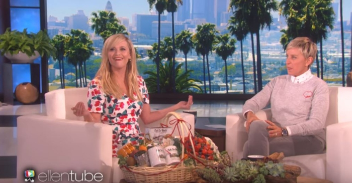 No mom enjoys regularly embarrassing her kids more than actress Reese Witherspoon