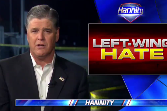 Sean Hannity has a theory as to why a gunman targeted Republican congressmen at baseball practice