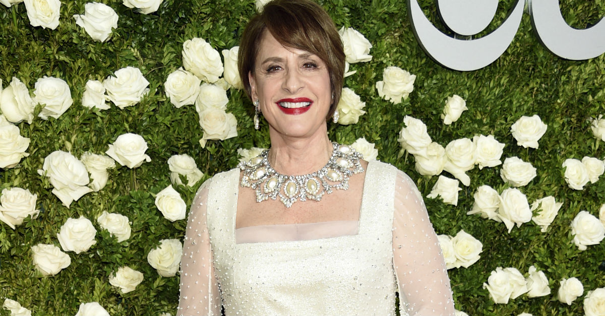 Patti LuPone said it like she meant it when asked why President Trump should see her on Broadway