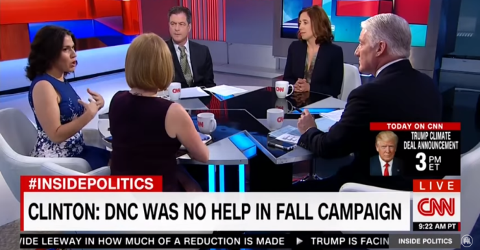 One CNN panel did not hold back in their criticisms of Hillary Clinton's campaign