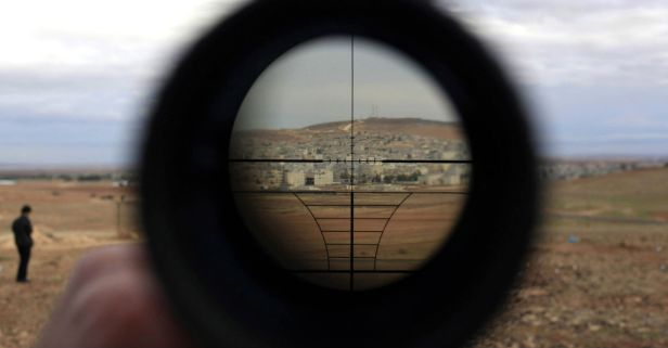 A sniper shattered the kill shot record when he took out an ISIS fighter