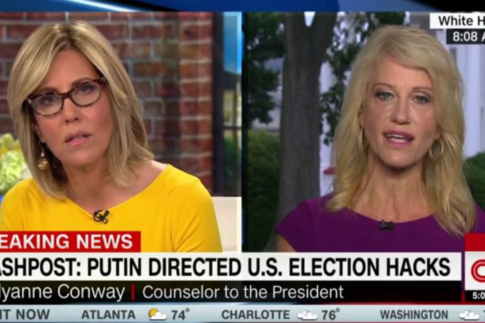 Things got heated between Kellyanne Conway and CNN's Alisyn Camerota when Russian election interference came into question