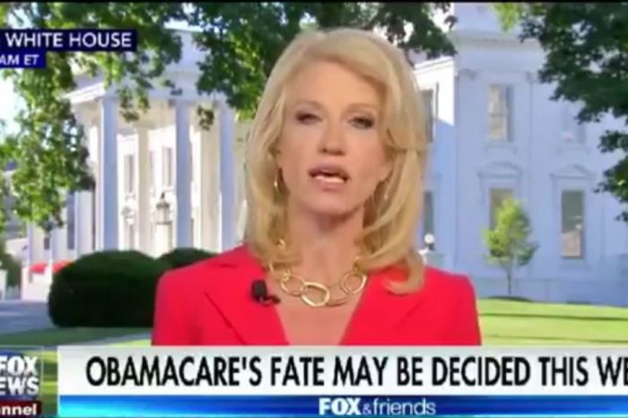 Kellyanne Conway is firing back at critics who have claimed the GOP health care bill would cut Medicaid
