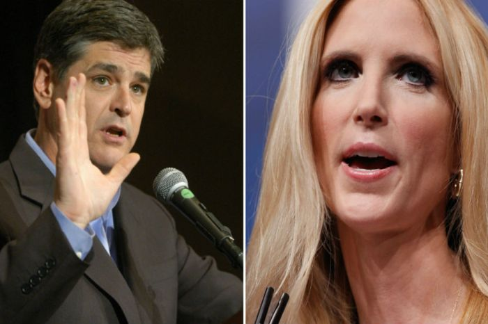 Sean Hannity was pretty upset over Ann Coulter's latest critique of him