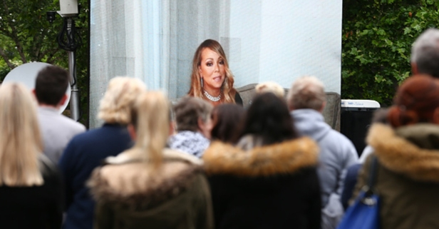 Mariah Carey sent a touching message to the funeral of a Manchester bombing victim