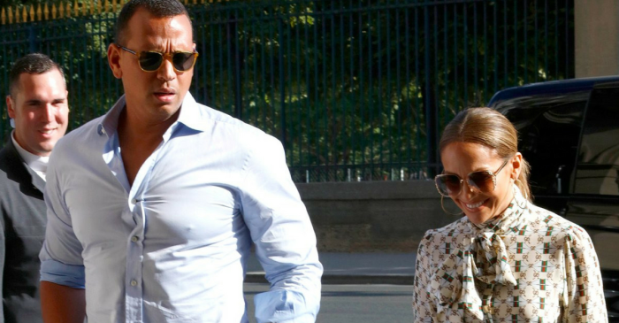 Jennifer Lopez and Alex Rodriguez take their blossoming relationship to the City of Love