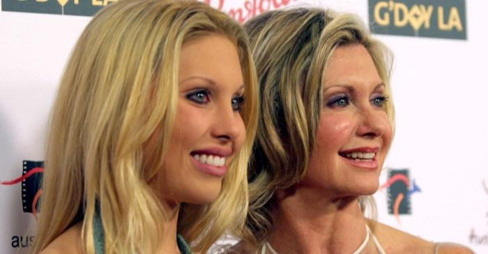 Chloe Lattanzi shares another update on mom Olivia Newton-John's cancer battle
