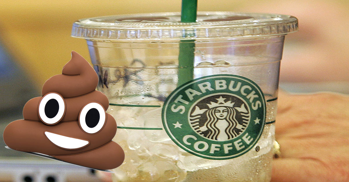 "A study found that these Starbucks drinks contain bacteria indicating ""recent fecal contamination"""