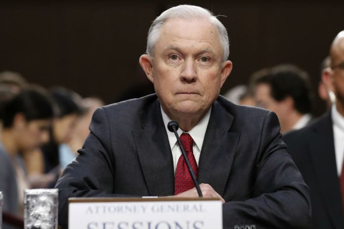 "Attorney General Jeff Sessions, DOJ arrest hundreds in the ""largest health care fraud enforcement action"" in history"