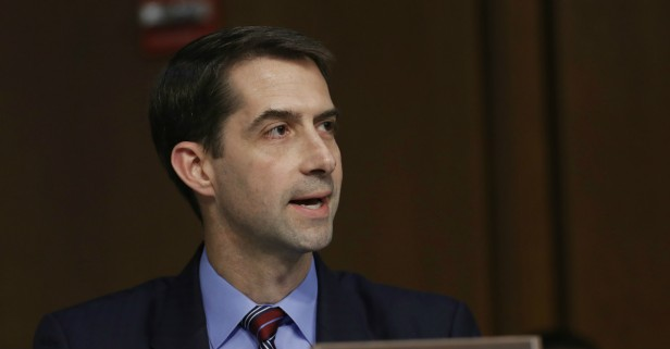 Tom Cotton will reportedly head the CIA. That's a really horrible idea