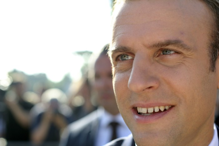 First France's Emmanuel Macron dropped one-liners, now he drops in the polls