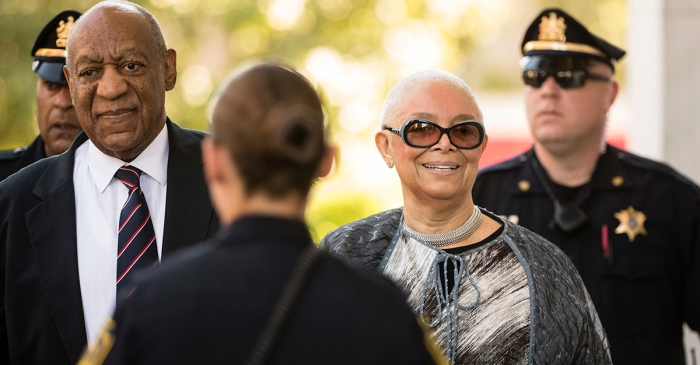 Bill Cosby's wife immediately tore into the DA and the judge after the mistrial was declared