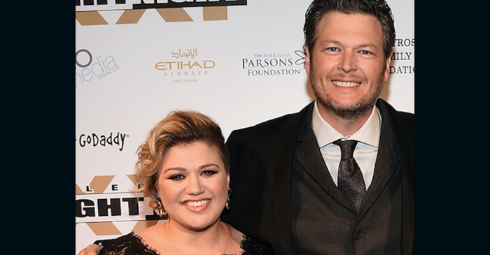 Kelly Clarkson had some choice words about going head-to-head with Blake Shelton