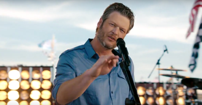 Blake Shelton sets the mood for NBC's NASCAR Cup Series coverage in this clip