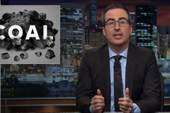 Right on schedule, John Oliver is getting sued by a major coal company