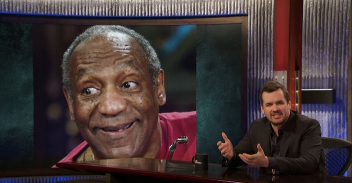 In his new show, Jim Jefferies skewered Bill Cosby in the best way, and it's glorious