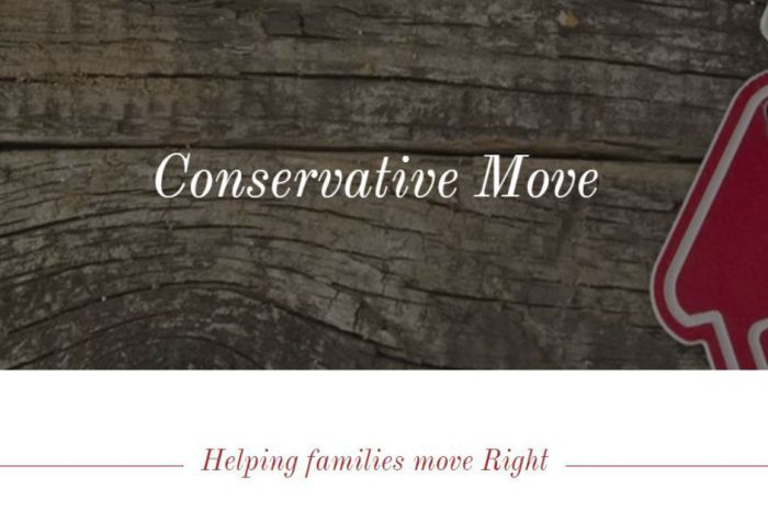 One website seeks to help conservatives move closer to like-minded people — here's where they suggest