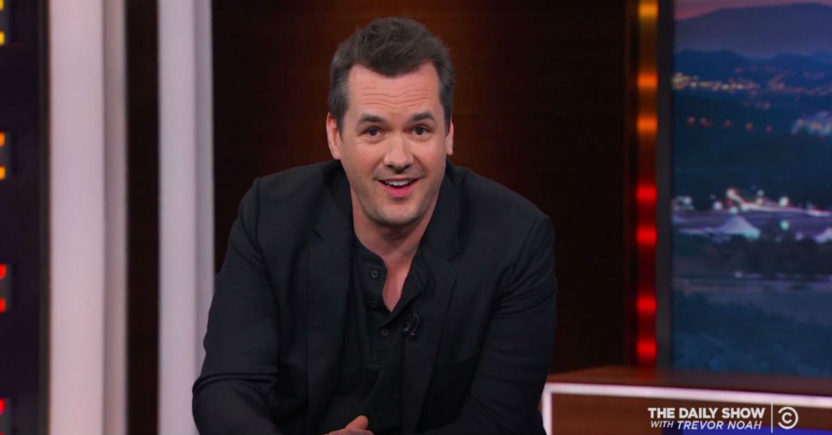 Jim Jefferies previews his new show by explaining why he can name the entire Trump administration