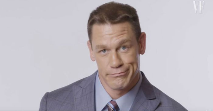 "John Cena explains how he finds his ""peace"" and dishes on his man crush"